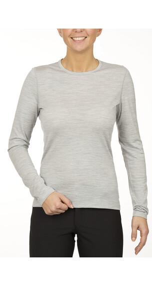 Icebreaker Oasis Crewe - Sous-vêtement laine femme - blanc